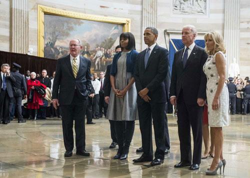 Toàn cảnh lễ nhậm chức của Obama qua ảnh - 11