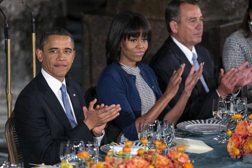 Toàn cảnh lễ nhậm chức của Obama qua ảnh - 12