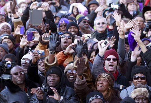 Toàn cảnh lễ nhậm chức của Obama qua ảnh - 3