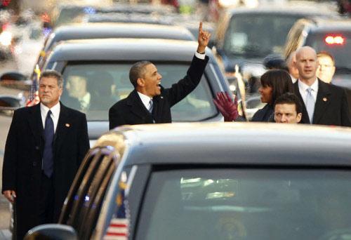 Toàn cảnh lễ nhậm chức của Obama qua ảnh - 5