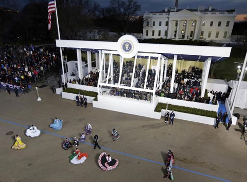 Toàn cảnh lễ nhậm chức của Obama qua ảnh - 6