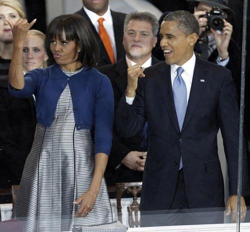Toàn cảnh lễ nhậm chức của Obama qua ảnh - 7