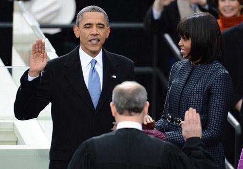 Toàn cảnh lễ nhậm chức của Obama qua ảnh - 8