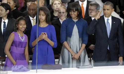 Cận mặt nữ đặc vụ hộ vệ Obama nhậm chức - 6