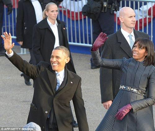 Cận mặt nữ đặc vụ hộ vệ Obama nhậm chức - 7