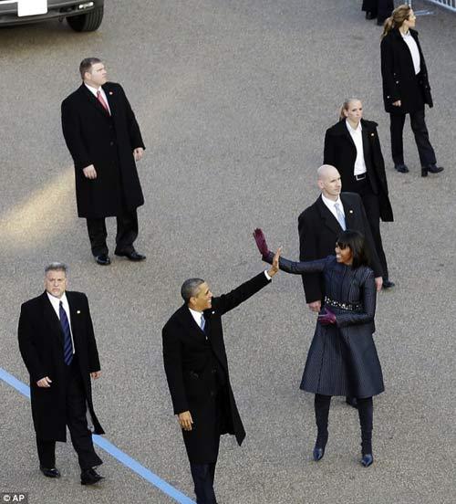 Cận mặt nữ đặc vụ hộ vệ Obama nhậm chức - 1
