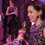 Ca nhạc - MTV - Hà Hồ đi chân đất nhận giải