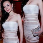 """Thời trang - Dương Yến Ngọc che """"điểm nóng"""" sành điệu"""