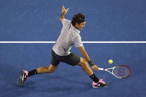 HOT: Federer 10 lần liên tiếp lọt vào BK Úc mở rộng - 1