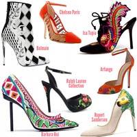 Đi tìm xu hướng giày Xuân Hè 2013