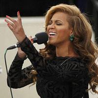Beyonce hát nhép tại lễ nhậm chức của Obama