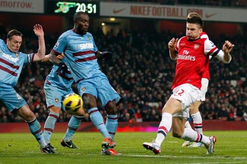 Arsenal - West Ham: 10 phút thăng hoa - 1