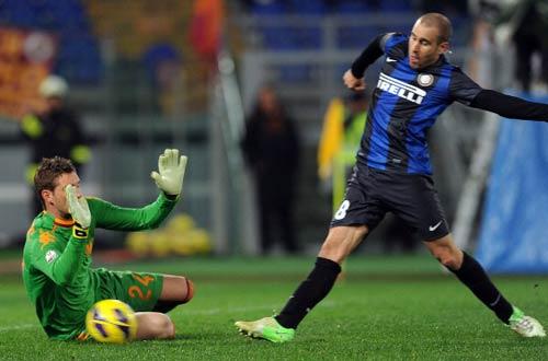 Roma - Inter: Lợi thế mong manh - 1