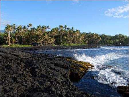 Ấn tượng bãi biển có cát màu đen - 2