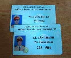 Hết quý I mới cấp xong thẻ xanh cho CSGT - 1