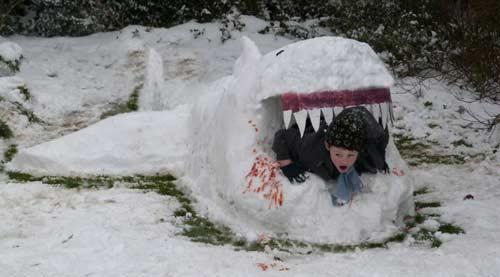Đã mắt với băng tuyết đẹp kỳ vĩ ở Anh - 5
