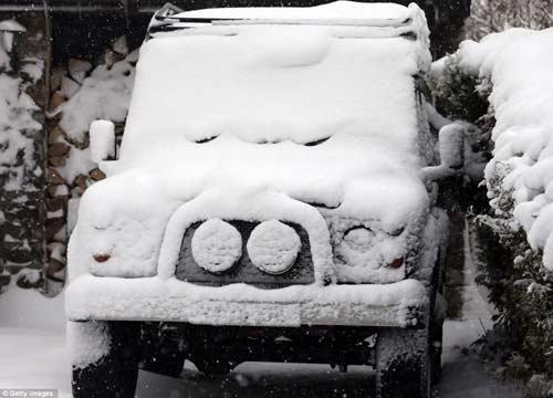 Đã mắt với băng tuyết đẹp kỳ vĩ ở Anh - 8