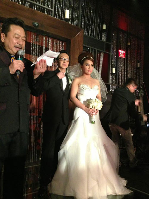 Lộ ảnh cưới của Minh Tuyết - 1