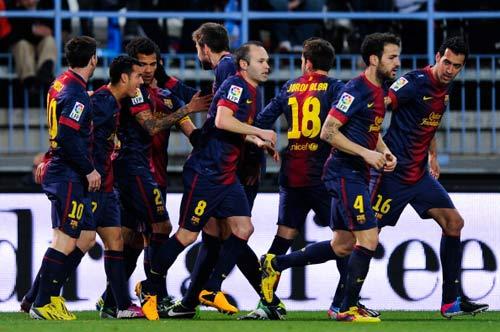Malaga – Barca: Đặt lịch hẹn Real - 1