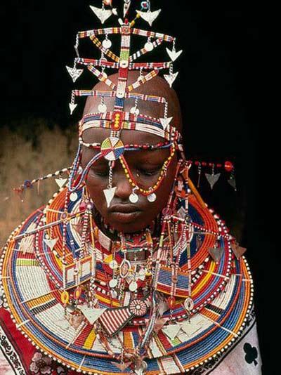 Nghi lễ cưới siêu độc đáo ở 'lục địa đen' - 4