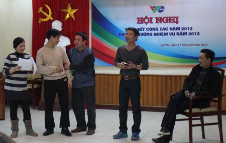 Minh Hằng tiết lộ Táo Quân 2013 - 2