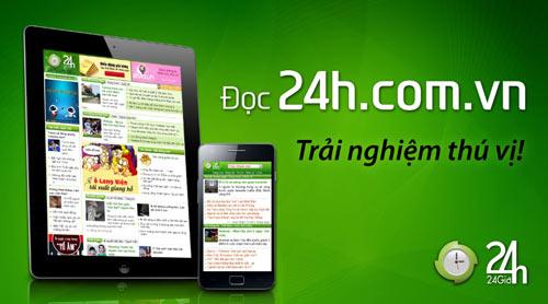 Ra mắt người anh em của m.24h.com.vn - 4