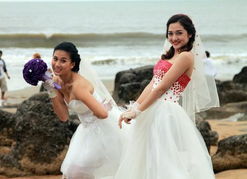 Phim Tết: Bảo Anh cưới Trương Thế Vinh - 4