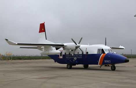 Cảnh sát biển VN nhận máy bay C-212 thứ 3 - 1