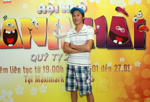 Hoài Linh, Hoàng Mập âu yếm trong cánh gà - 1