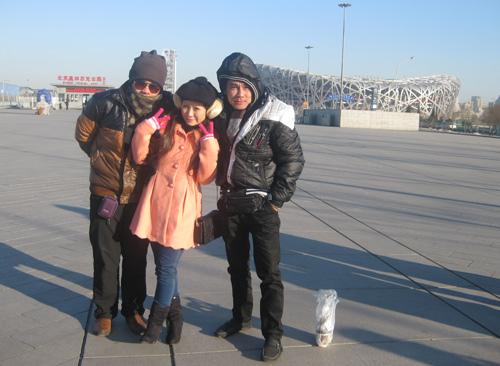 Vợ chồng Kiều Linh tình tứ tại Bắc Kinh - 1