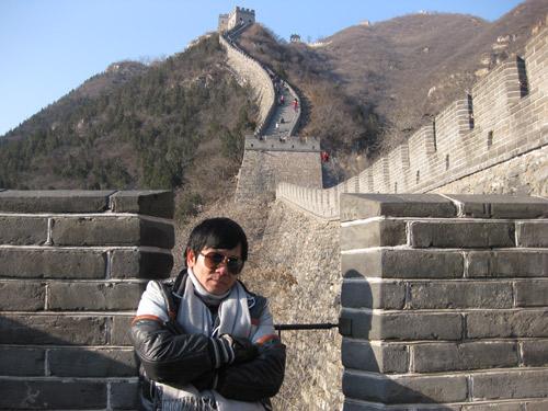 Vợ chồng Kiều Linh tình tứ tại Bắc Kinh - 8