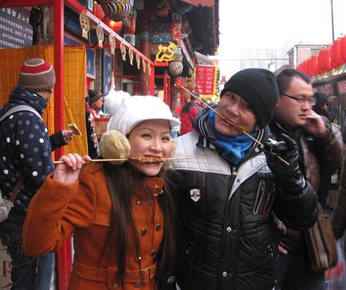 Vợ chồng Kiều Linh tình tứ tại Bắc Kinh - 16