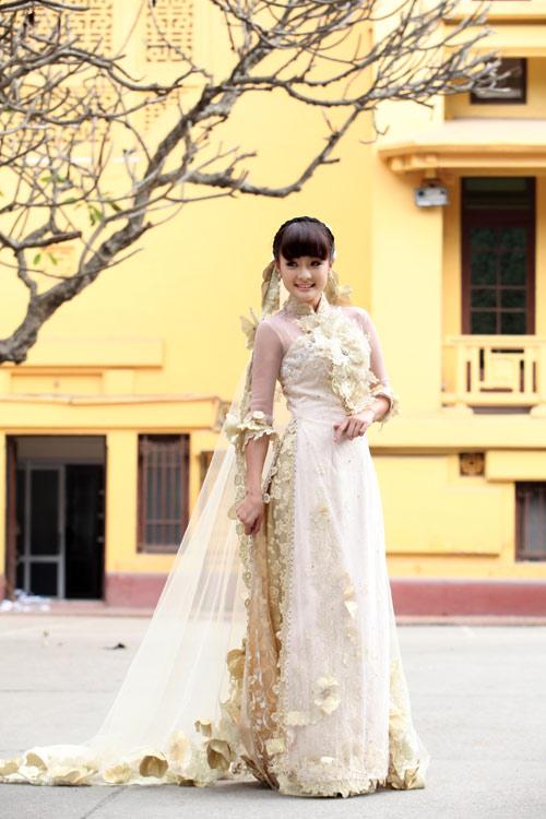 Chọn áo dài cưới cho cô dâu 2013 - 3