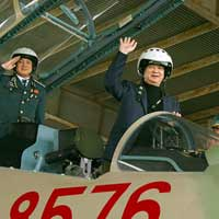Thủ tướng đi thị sát máy bay Su-30MK2