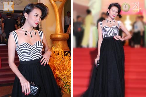 Ngô Thanh Vân khoe vai trần nõn nà - 6