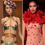 Thời trang - Những pha lộ ngực gây sốc trên catwalk