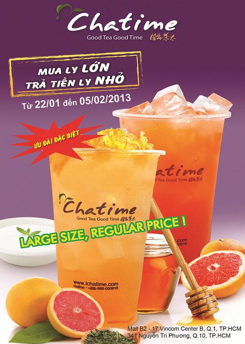 Trà sữa Chatime đậm đà hương vị nguyên chất - 1