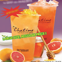 Trà sữa Chatime đậm đà hương vị nguyên chất