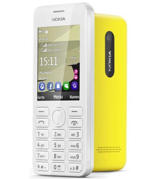 Ra mắt Nokia 206 hai SIM giá mềm - 1