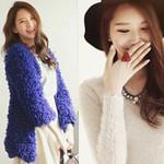 Thời trang công sở - Ấm áp đến công sở cùng áo len lông xù