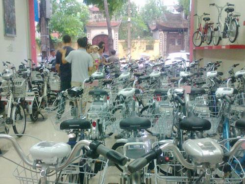 Xe đạp điện có thể đi 80 km tại Hà Nội - 3