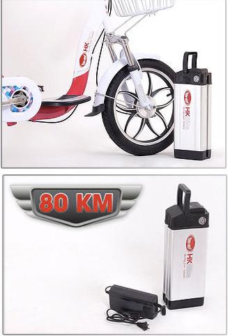 Xe đạp điện có thể đi 80 km tại Hà Nội - 6