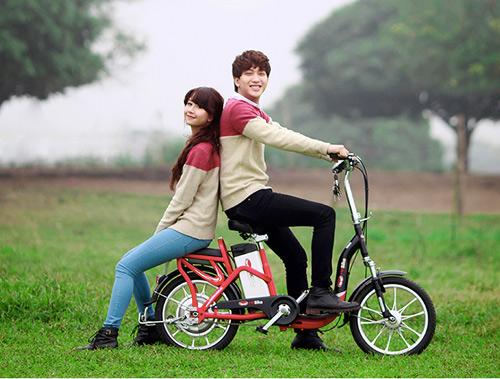 Xe đạp điện có thể đi 80 km tại Hà Nội - 7