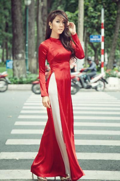 """Khi """"gái hư"""" mượn áo dài che lấp scandal - 3"""