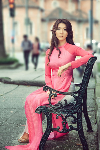 """Khi """"gái hư"""" mượn áo dài che lấp scandal - 4"""