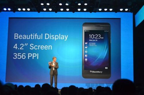 BlackBerry Z10 chính thức trình làng - 1