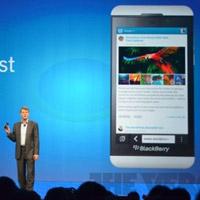 BlackBerry Z10 chính thức trình làng