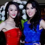 Thời trang - Linh Chi đọ sắc với á hậu Việt kiều