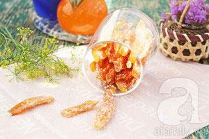 Làm mứt vỏ cam rất thơm và dễ - 10