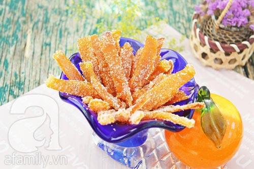 Làm mứt vỏ cam rất thơm và dễ - 11